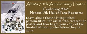 Alta's 70th Anniversary Poster