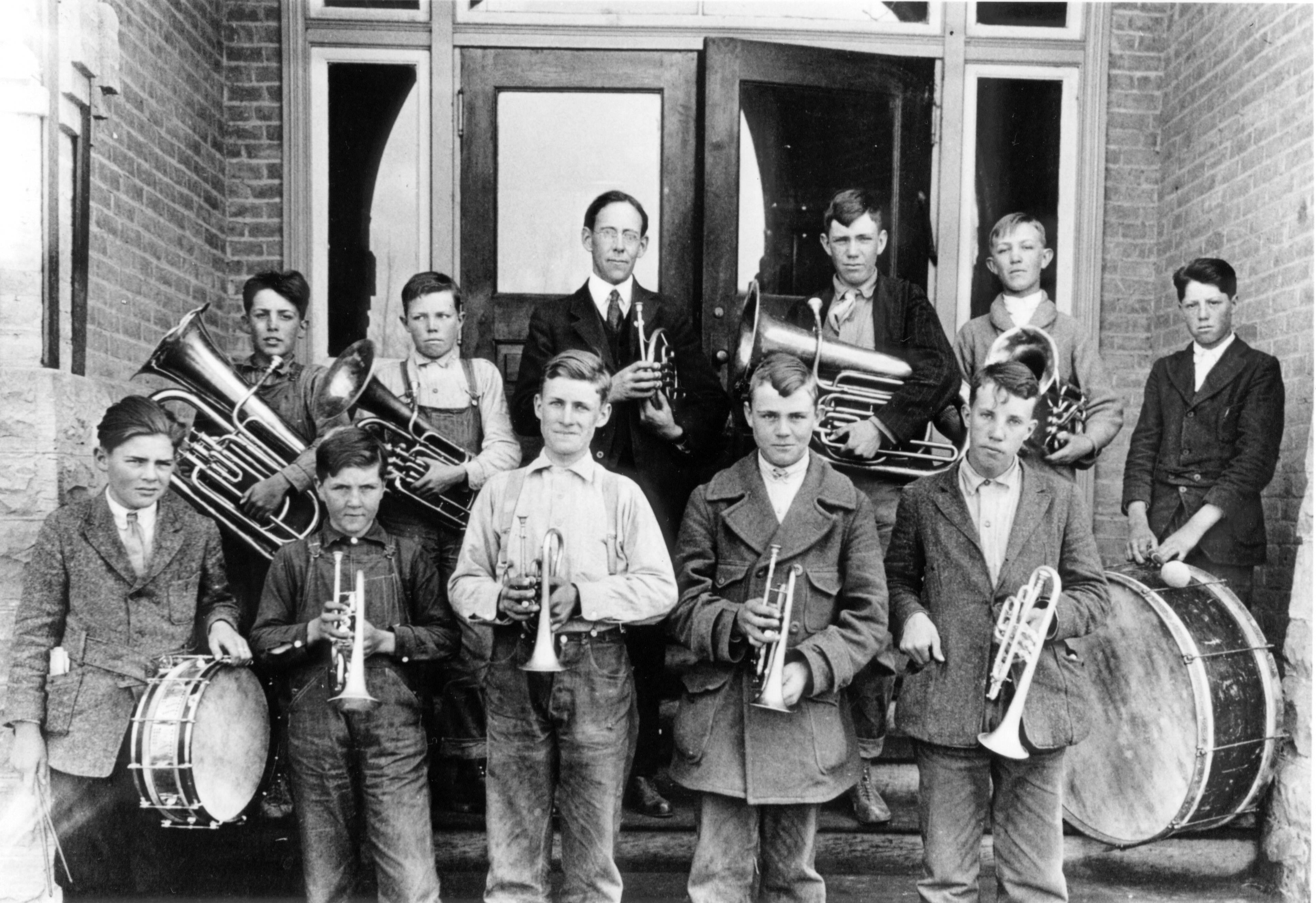 Centeral School Band Circa 1930