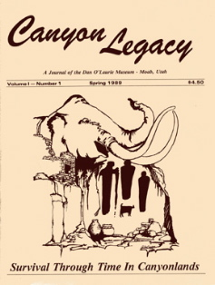 Canyon Legacy VOLUME 1