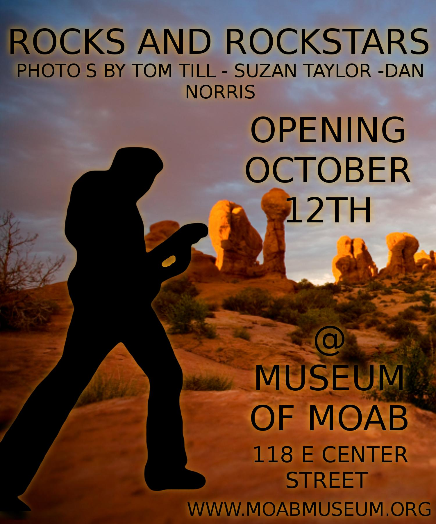 Rocks and Rock Stars Photo Exhibit