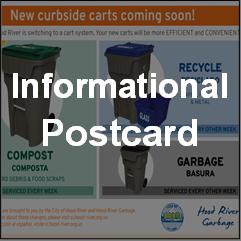 Informational Postcard
