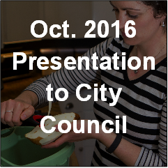 Oct 2016 Presentation to City Council