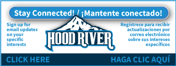 Sign up for emails from the City of Hood River