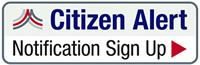 Everbridge Citizen Alert Notification Sign-up