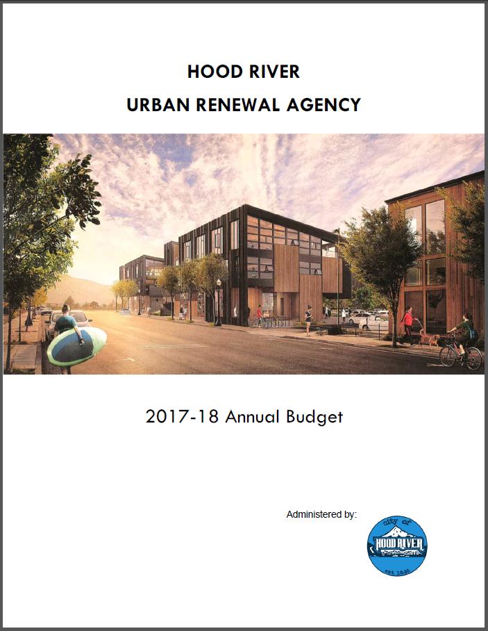 2017-18 URA Budget Cover
