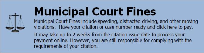 Pay Municipal Court Fines Online
