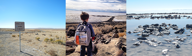 Spiral Jetty Backpack images