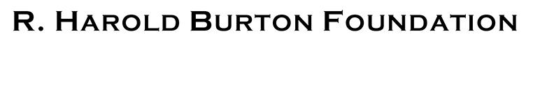 R. Harold Burton Foundation Logo