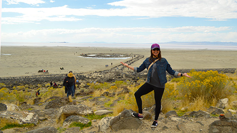 Spiral Jetty Meet-up 2016
