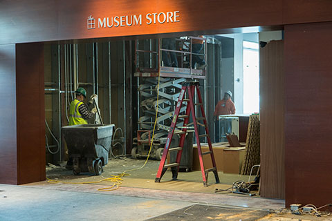 The Museum Store renovation