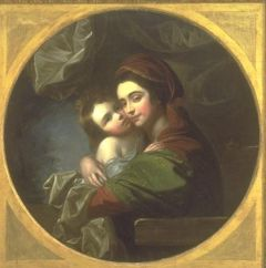 Mrs. Benjamin West and her Son Raphael