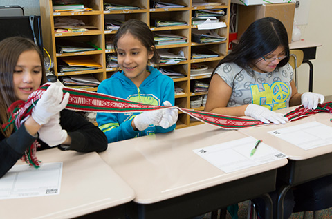 pARTners program in 4th grade classroom