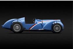 Image of delahaye racecar