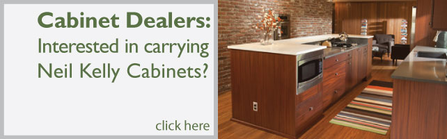dealer banner with kitchen