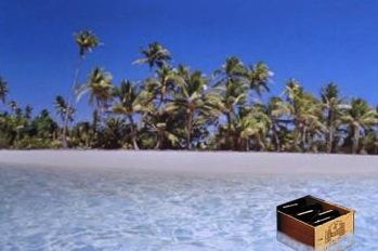 Desert Island--pass the Pinot