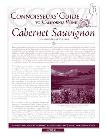 Connoisseurs Guide To California Wine