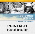 Custom Fit Printable Brochure