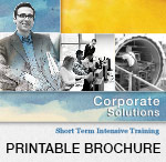 Short Term Intensive Training Printable Brochure