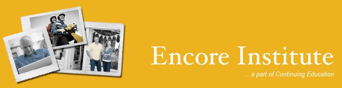 Encore Institute Banner