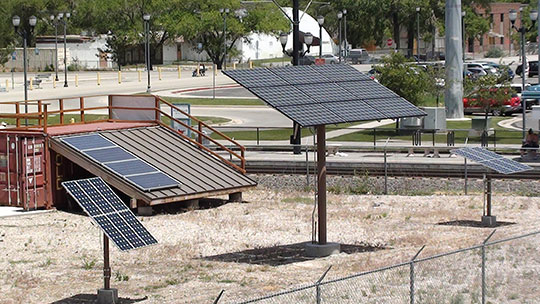 Solar Training Yard