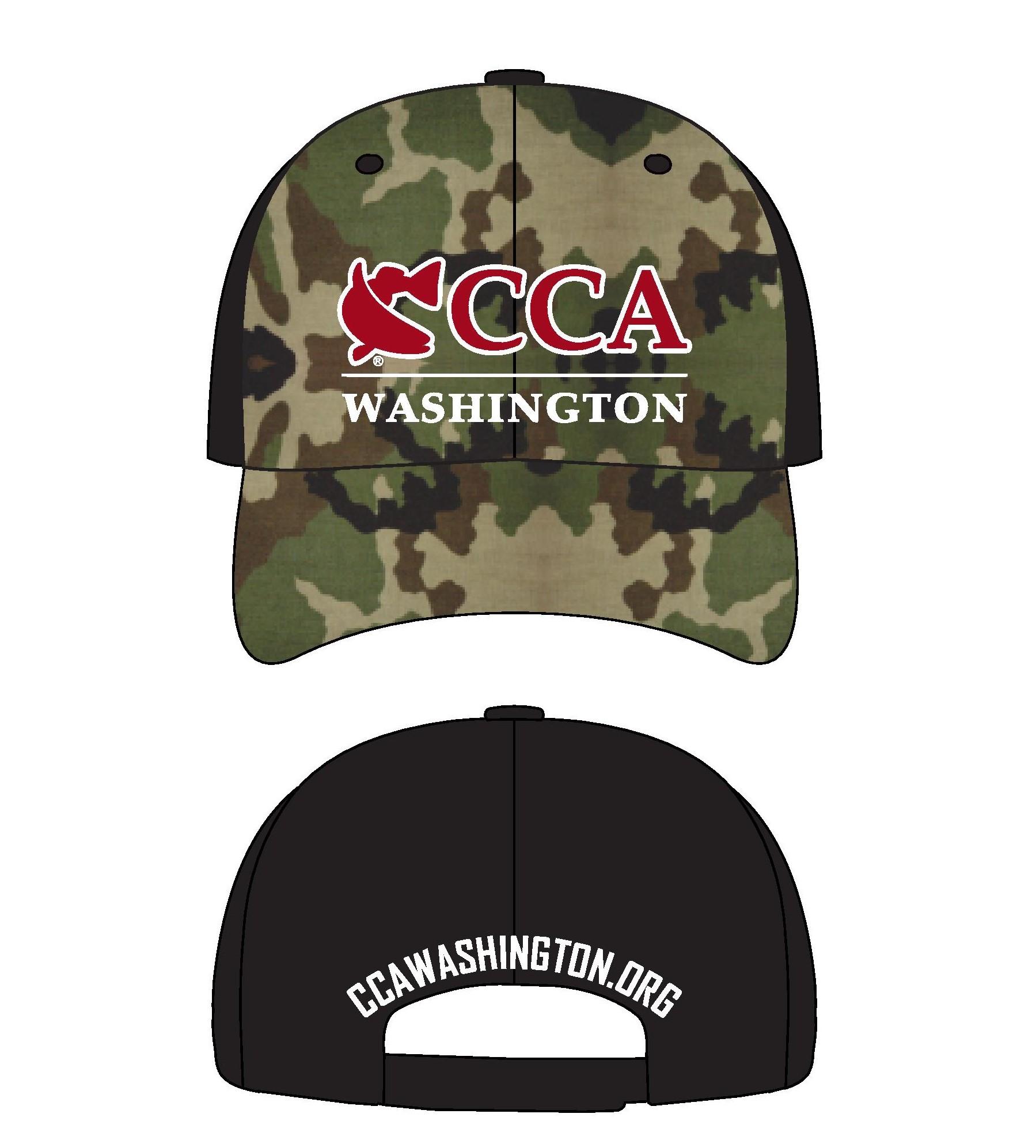 CCA Camo Hat