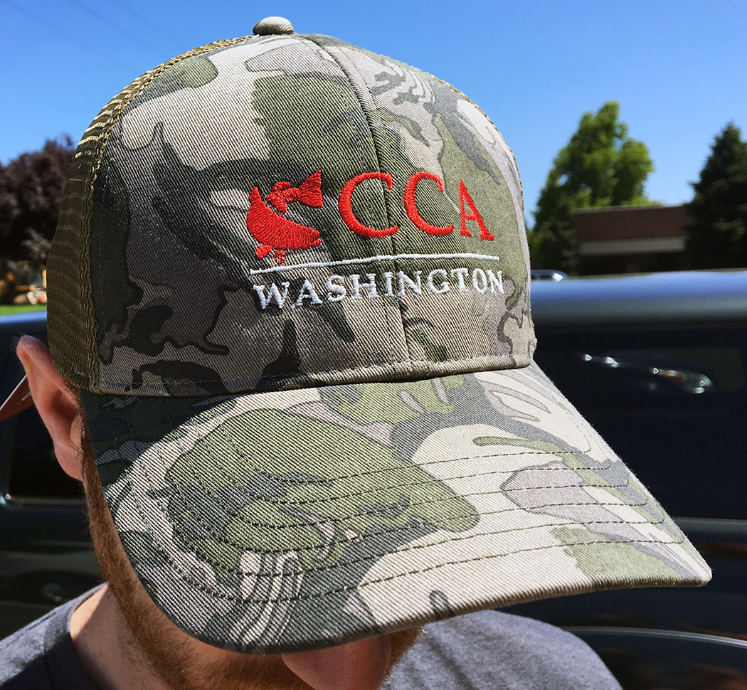 CCA Washington Simms Riffle Camo Hat